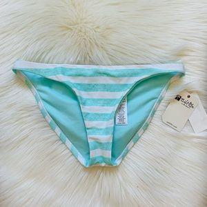 NWT Salt Life Aquarelle Striped Bikini Bottoms XS